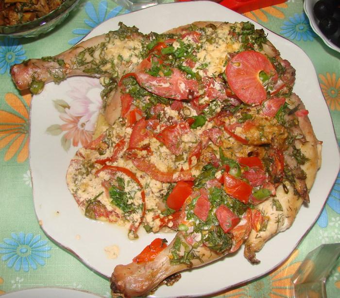 Рецепт горячих блюд на второе к праздничному столу