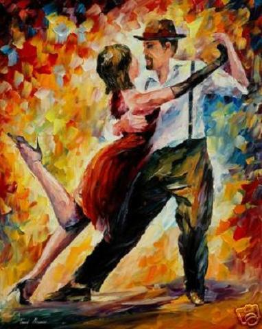 """Оригинал - Схема вышивки  """"Танец страсти """" - Схемы автора  """"smorodina2410 """" - Вышивка крестом."""