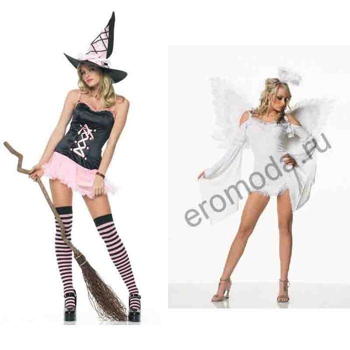 Костюм своими руками для девочек на хэллоуин