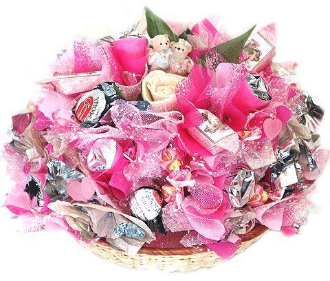 Что подарить вместо цветов к подарку 5