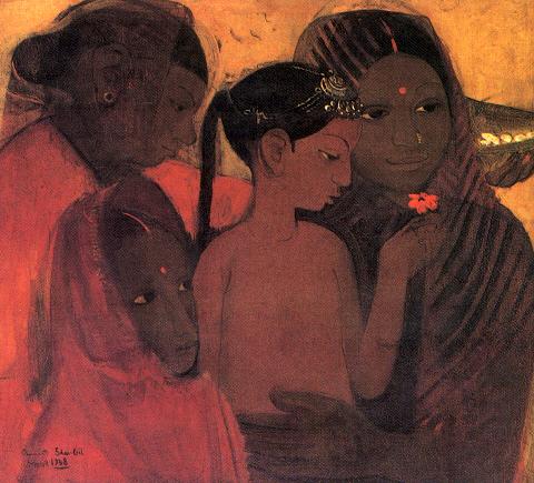 Индийская живопись в аджанте