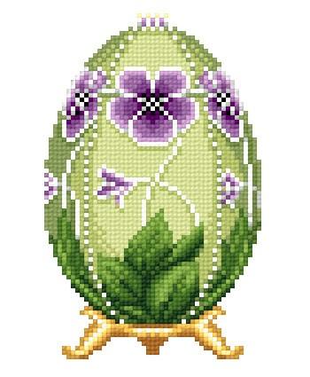 Пасхальные яйца. Вышивка.