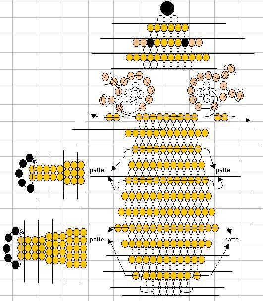 Бисероплетение схемы браслетов для начинающих. вышивка лентами для.