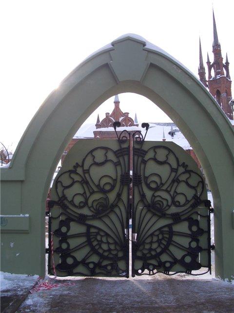 Ворота в самаре фото как сварить калитку и ворота из профнастила видео