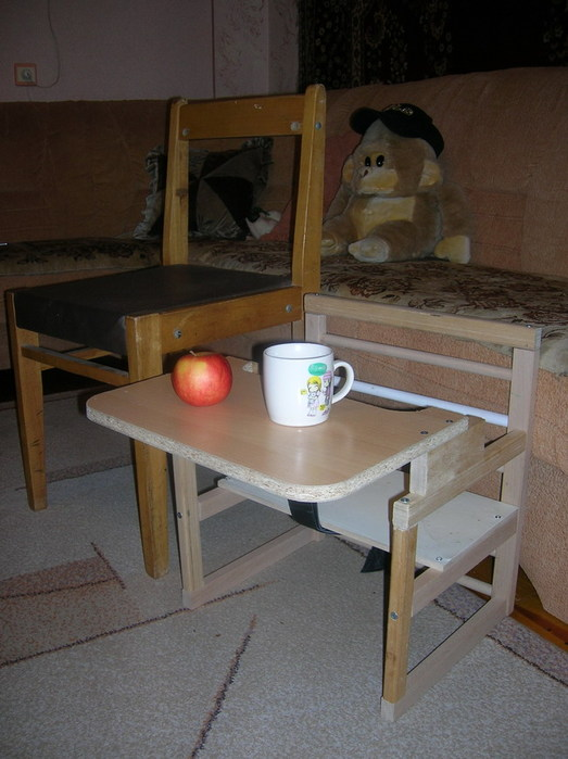 Как сделать столик и стульчик для ребенка своими руками 87