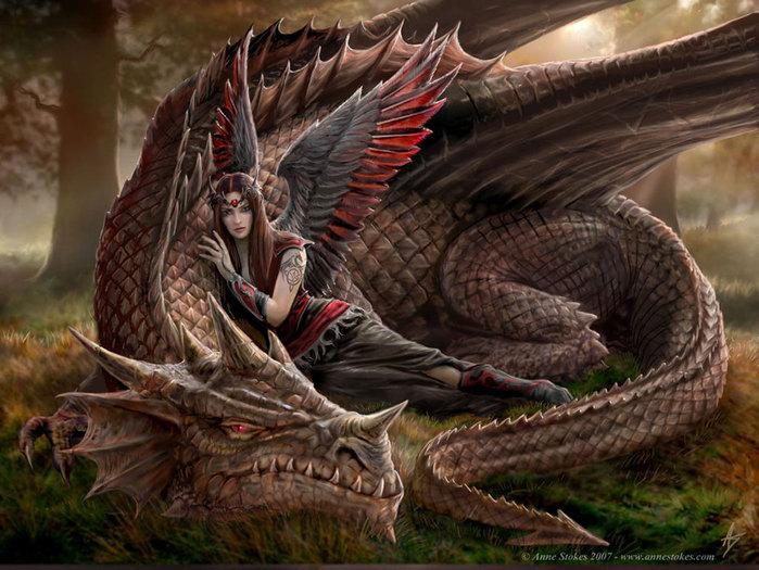 Драконы страшные и симпатичные