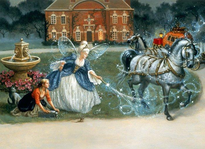 Очень красивые иллюстрации к сказкам!