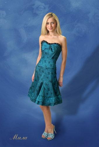 модели вечерних платьев с выкройками