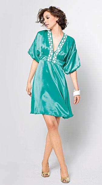 платья с рукавомфонариком