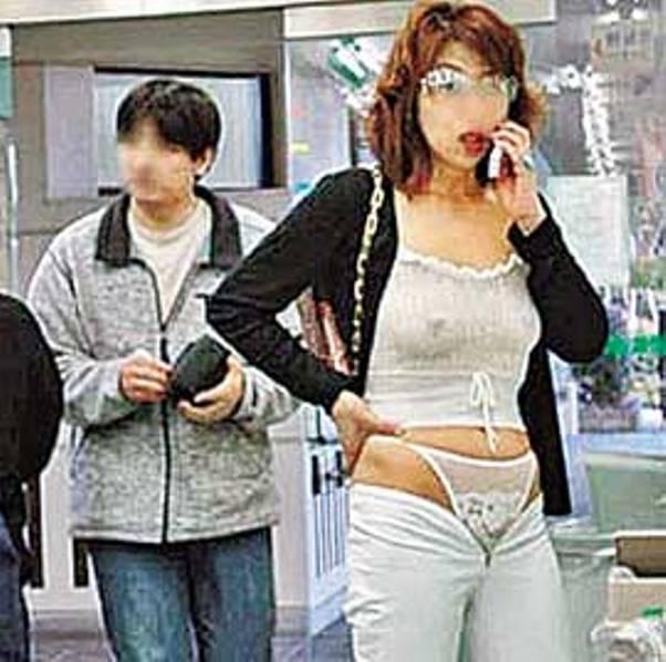 Срывают трусы японцы