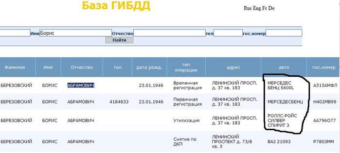База гибдд красноярск онлайн его знает