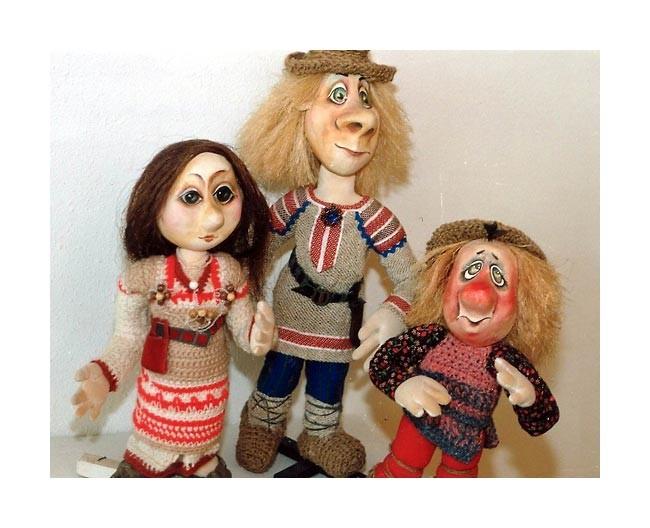 Кукла своими руками из салфеток