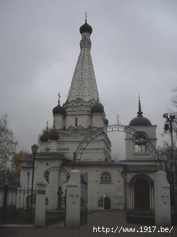 Церковь Покрова Пресвятой Богородицы в Медведково