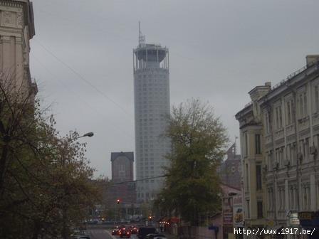 """Башня """"Красные холмы"""" на Павелецкой"""
