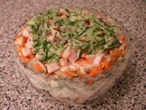 Пошаговый рецепт с фото приготовления салата обжорка,Салаты. По