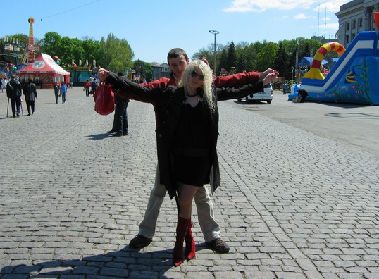 Я і Анютка. lilumi