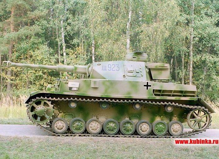 Фото и модели немецких танков в цвете