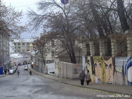Улица Забелина - граффити