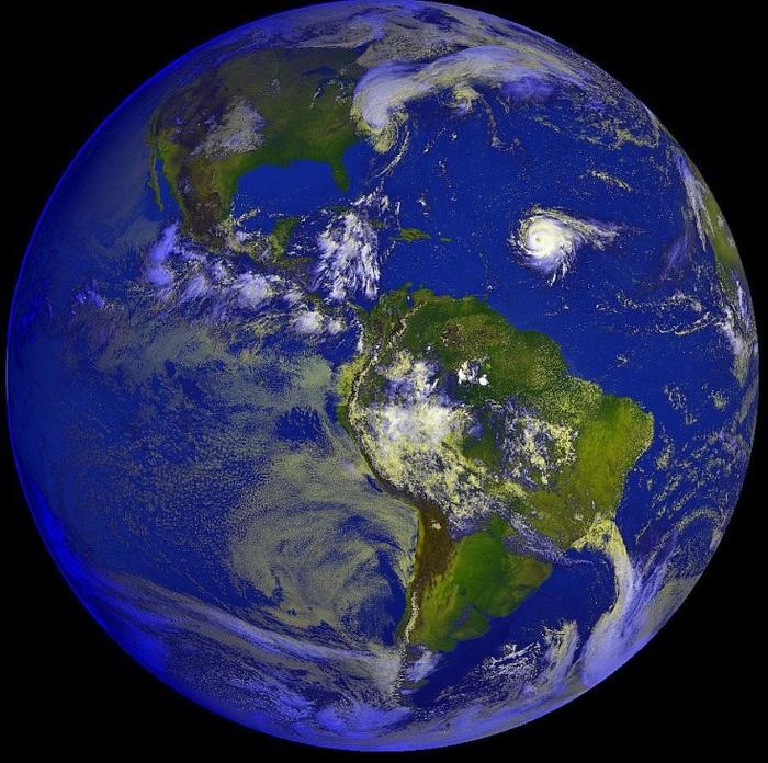 Карту и фото земли со спутника земли