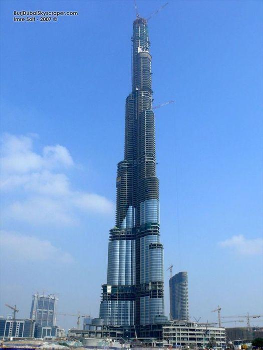 Как выглядит самая высокая башня в мире