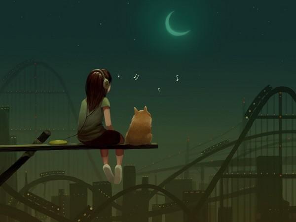 Днем или ночью я знаю