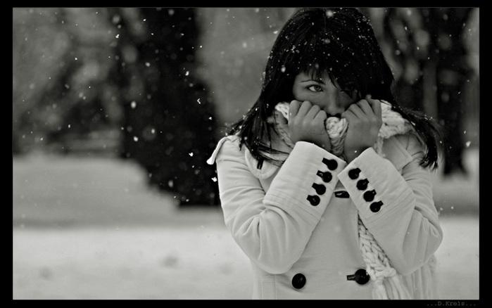 Снег содержит много вредных веществ