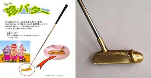 Клюшка для гольфа своими руками