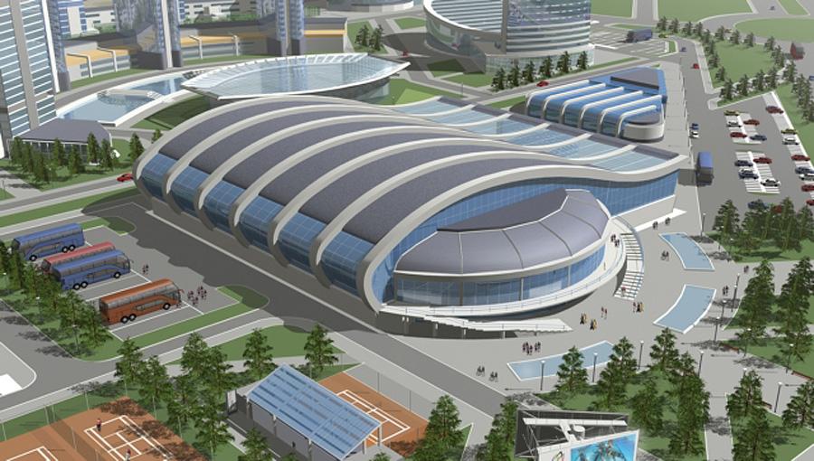 Планируется строительство дворца водных видов спорта