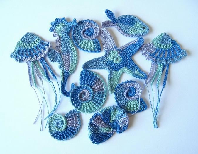 Морские мотивы для вязания