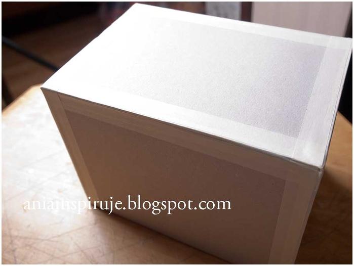 Комодик и рамочка для фотографий из картона. Мастер-класс (13) (700x526, 144Kb)