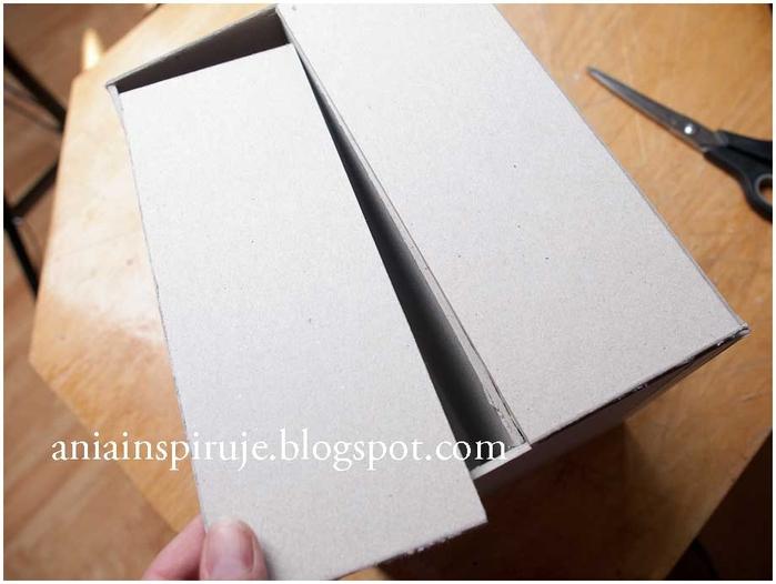 Комодик и рамочка для фотографий из картона. Мастер-класс (15) (700x526, 184Kb)