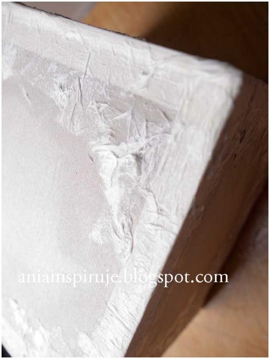 Комодик и рамочка для фотографий из картона. Мастер-класс (19) (526x700, 167Kb)