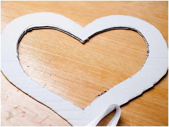 Сердце своими руками для свадьбы фото для