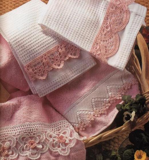 Esquemas belo caimento de uma toalha de crochê (1) (520x559, 695KB)