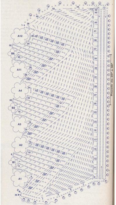 Esquemas hermoso gancho para las toallas que atan (3) (397x700, 521kb)