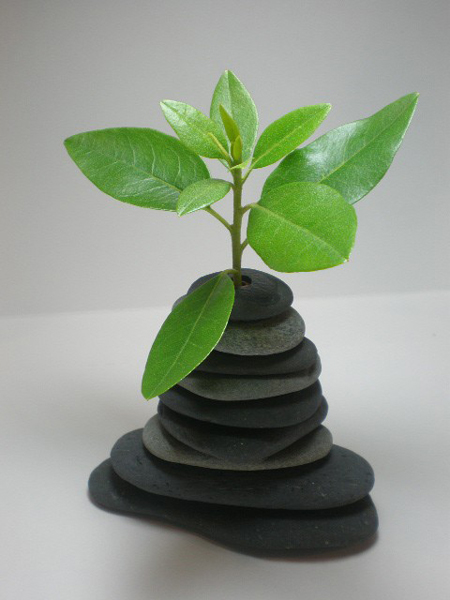 Как сделать вазу из листьев клена своими руками - 580