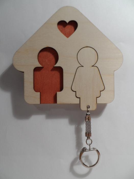 Ключницы настенные деревянные