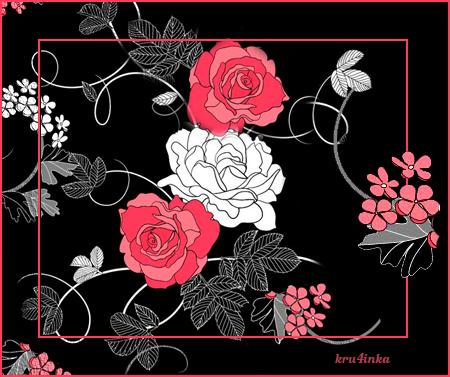 Рисованные-розы (450x377, 158Kb)
