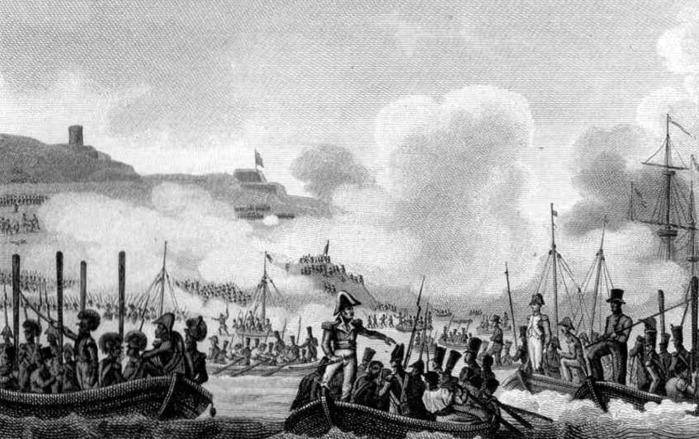 04 Высадка Наполеона на Мальте (700x439, 110Kb)