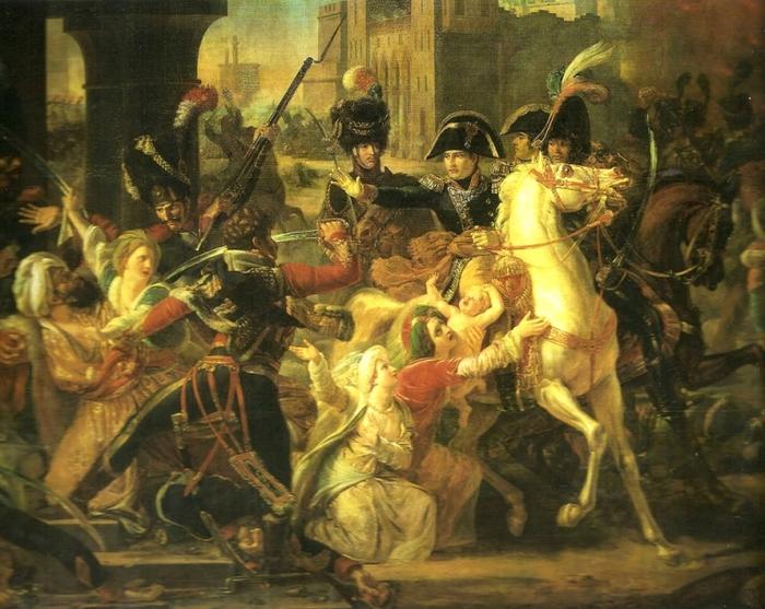 07 Наполеон в Александрии (700x557, 233Kb)