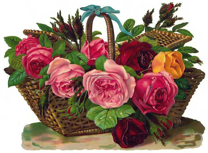 Портал Страны Фотошопии - Государственный Музей Фотошопии - Vintage Flowers 89