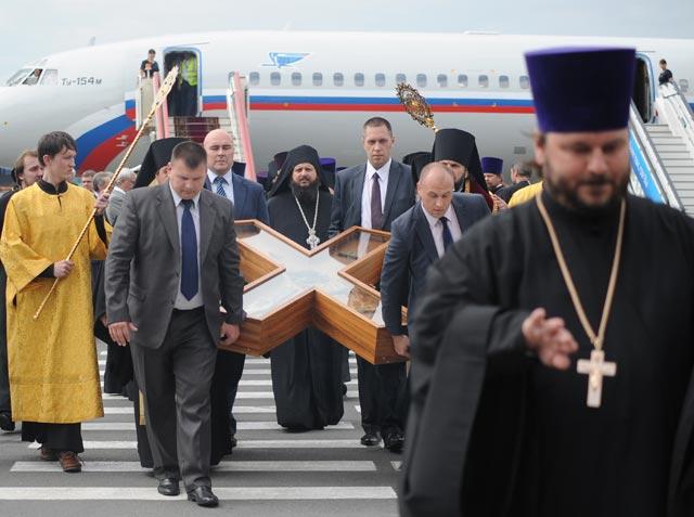 Встреча Андреевского креста в Петербурге (640x477, 192Kb)