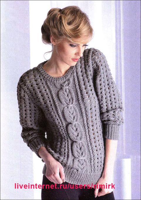 вязаные-пуловеры-спицами (480x680, 288Kb)