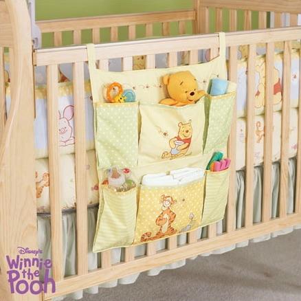 Кармашки на детскую кроватку своими руками мастер класс