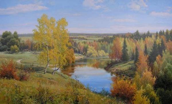 Любимая Россия: Летние пейзажи.  Сен.