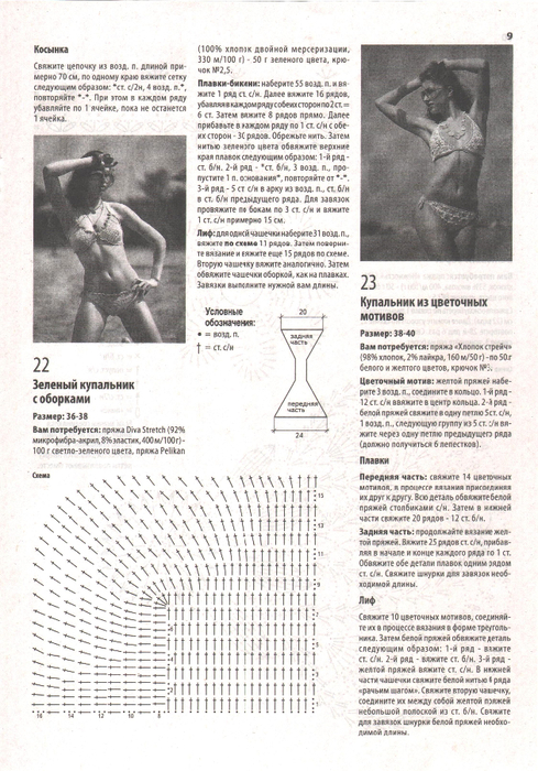 журнал вязаные купальники идругие аксессуары (19) (489x700, 447Kb)