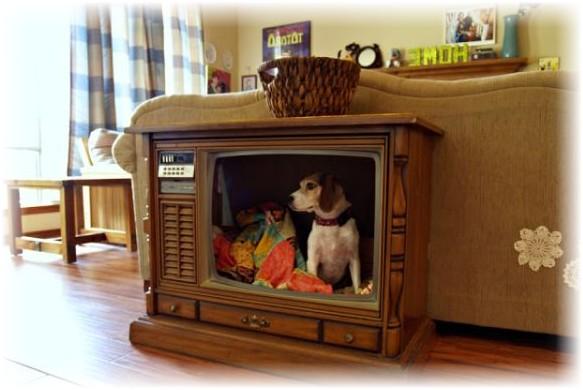 Поделки из старых телевизоров