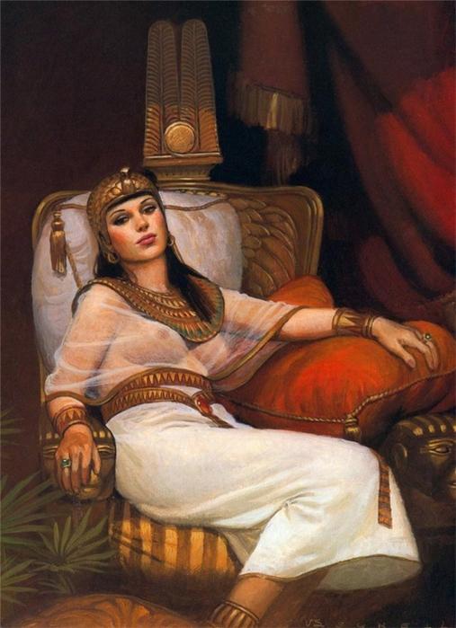 царицы Клеопатры