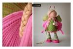 Сегодня я увидела замечательные фотографии очаровательнейших авторских кукол Татьяны Коннэ. .