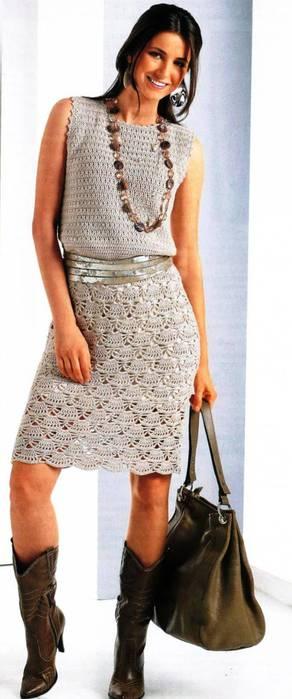 Стильные летние платья 7